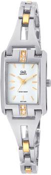 Японские наручные  женские часы Q&Q GT77401. Коллекция Elegant