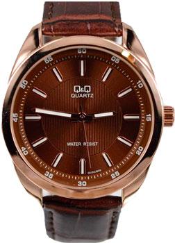Японские наручные  мужские часы Q&Q GU32J805. Коллекция Кварцевые