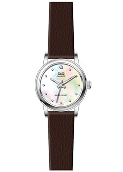 Японские наручные  женские часы Q&Q GU45J800. Коллекция Кварцевые