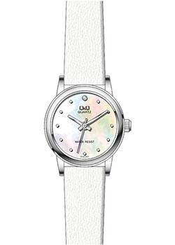 Японские наручные  женские часы Q&Q GU45J803. Коллекция Кварцевые
