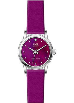 Японские наручные  женские часы Q&Q GU45J806. Коллекция Кварцевые