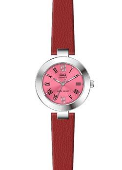Японские наручные  женские часы Q&Q GU51J802. Коллекция Кварцевые