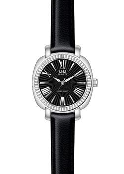 Японские наручные  женские часы Q&Q GU59J800. Коллекция Кварцевые