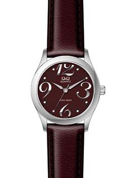 Японские наручные  женские часы Q&Q GU61J807. Коллекция Кварцевые
