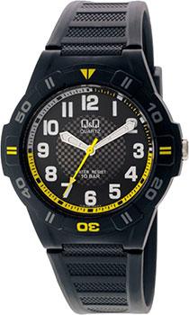 Японские наручные  мужские часы Q&Q GW36J002. Коллекция Sports