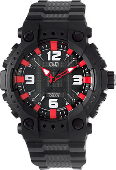Японские наручные  мужские часы Q&Q GW82J002. Коллекция Sports