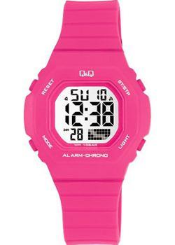 Японские наручные  женские часы Q&Q M137J006. Коллекция Sports
