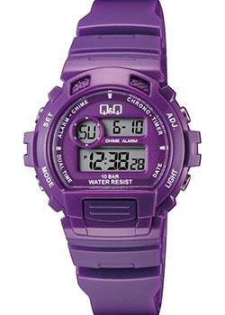 Японские наручные  женские часы Q&Q M153J003. Коллекция Sports
