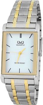 Японские наручные  мужские часы Q&Q Q432401. Коллекция Standard