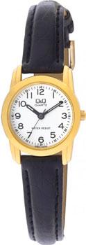 Японские наручные  женские часы Q&Q Q469J104. Коллекция Кварцевые