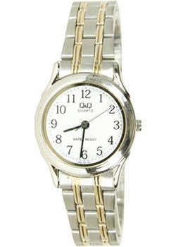Японские наручные  женские часы Q&Q Q591J404. Коллекция Standard