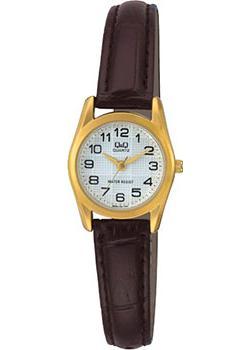 Японские наручные  женские часы Q&Q Q639J104. Коллекция Кварцевые