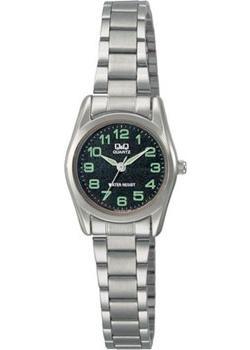 Японские наручные  женские часы Q&Q Q639J205. Коллекция Кварцевые