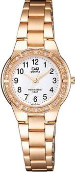 Японские наручные  женские часы Q&Q Q691J004. Коллекция Elegant