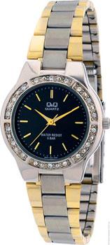 Японские наручные  женские часы Q&Q Q691J402. Коллекция Elegant