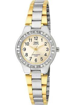 Японские наручные  женские часы Q&Q Q691J403. Коллекция Elegant