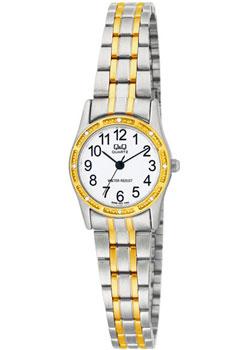Японские наручные  женские часы Q&Q Q695J404. Коллекция Кварцевые