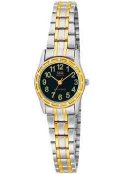 Японские наручные  женские часы Q&Q Q695J405. Коллекция Кварцевые