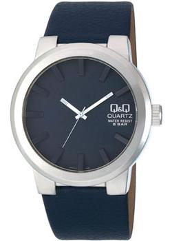 Японские наручные  мужские часы Q&Q Q740J312. Коллекция Кварцевые