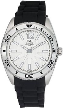 Японские наручные  мужские часы Q&Q Q778J301. Коллекция Anniversary