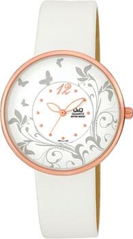 Японские наручные  женские часы Q&Q Q847111. Коллекция Elegant