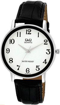 Японские наручные  мужские часы Q&Q Q850J304. Коллекция Standard