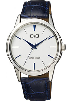 Японские наручные  мужские часы QQ Q860J301. Коллекция Кварцевые.
