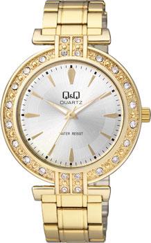Японские наручные  женские часы Q&Q Q885J001. Коллекция Standard