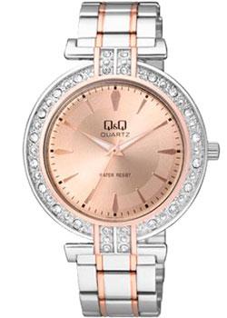 Японские наручные  женские часы Q&Q Q885J402. Коллекция Кварцевые