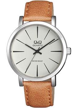 Японские наручные  мужские часы QQ Q892J300. Коллекция Кварцевые.