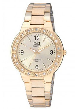Японские наручные  женские часы Q&Q Q901J010. Коллекция Кварцевые