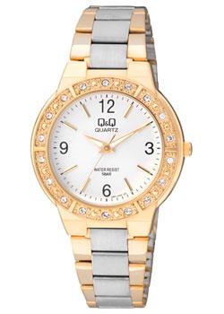Японские наручные  женские часы Q&Q Q901J404. Коллекция Кварцевые