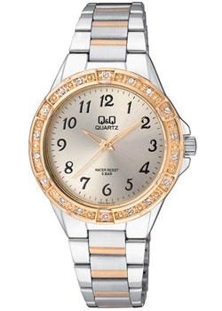 Японские наручные  женские часы Q&Q Q909J403. Коллекция Elegant