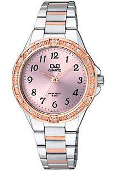 Японские наручные  женские часы Q&Q Q909J405. Коллекция Кварцевые