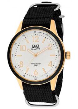 Японские наручные  мужские часы QQ Q922J114. Коллекция Кварцевые.