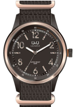 Японские наручные  мужские часы QQ Q922J525. Коллекция Кварцевые.