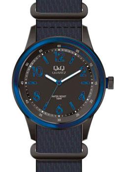 Японские наручные  мужские часы Q&Q Q922J535. Коллекция Кварцевые