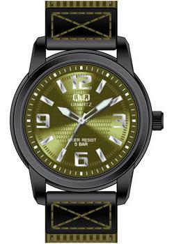 Японские наручные  мужские часы Q&Q Q930J505. Коллекция Кварцевые