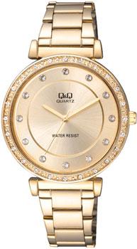 Японские наручные  женские часы Q&Q Q959J010. Коллекция Elegant