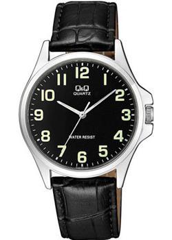 Японские наручные  мужские часы Q&Q QA06J305. Коллекция Кварцевые