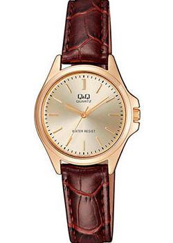 Японские наручные  женские часы Q&Q QA07J100. Коллекция Standard