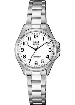 Японские наручные  женские часы Q&Q QA07J204. Коллекция Кварцевые