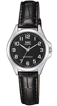 Японские наручные  женские часы Q&Q QA07J305. Коллекция Кварцевые