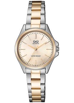 Японские наручные  женские часы Q&Q QA07J400. Коллекция Кварцевые