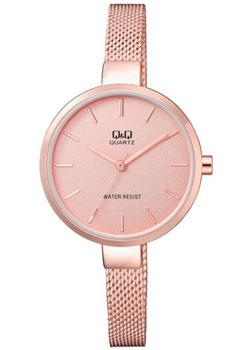 Японские наручные  женские часы Q&Q QA15J020. Коллекция Elegant