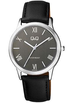 Японские наручные  мужские часы QQ QB36J308. Коллекция Кварцевые.
