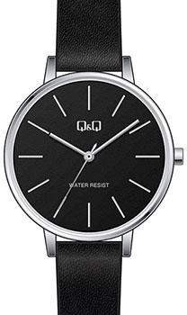 Японские наручные  мужские часы QQ QB57J302. Коллекция Кварцевые.
