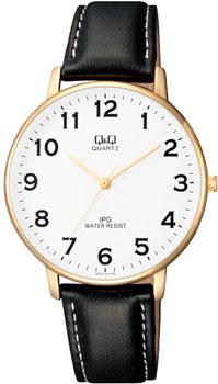 Японские наручные  мужские часы Q&Q QZ00J104. Коллекция IP Series