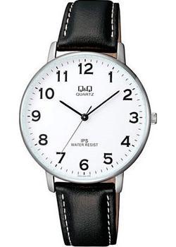 Японские наручные  мужские часы Q&Q QZ00J304. Коллекция IP Series