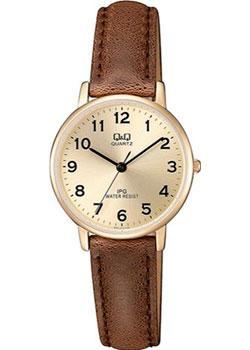 Японские наручные  женские часы Q&Q QZ01J103. Коллекция IP Series